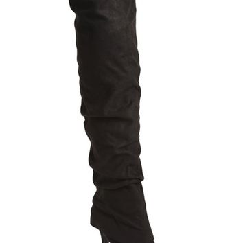 Women's Nina 'Kymari' Over the Knee Pointy Toe Boot,