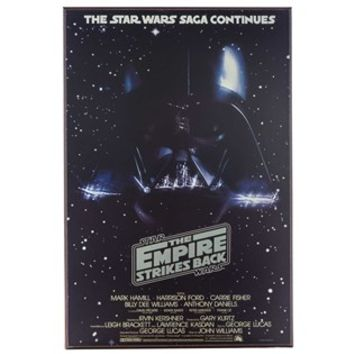 The Empire Strikes Back Star Wars MDF Movie Poster | Shop Hobby Lobby
