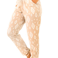 Go With It Pants: Tan