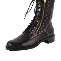 VC Signature Quilted Combat Boot