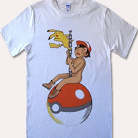 Pokemon parody miley cyrus Costom T-shirt