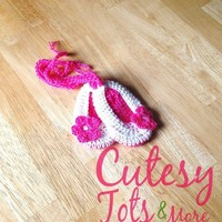 Pink Ballet Slippers from Cutesy Tots & More Boutique