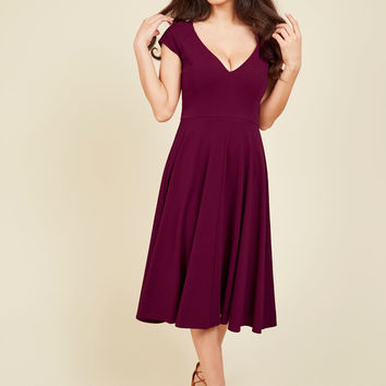 Name the Date Dress in Scarlet | Mod Retro Vintage Dresses | ModCloth.com