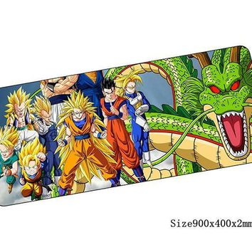 Anime Dragon Ball Z Gaming Mouse Pad 10 Styles