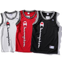 hcxx 2180 champion Basketball vest sweater