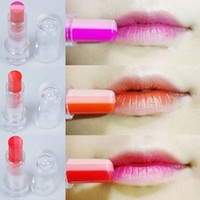 Korean Style Tint Bar Triple Shot Triple Peach Lipstick Lip Balm Makeup Cosmetics Maquiagem #61270