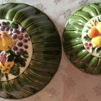 Hand painted food molds by Saint Clement