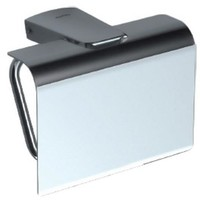 Sonia S6 Wall Toilet Paper Holder With Lid Tissue Dispenser Bath, Brass