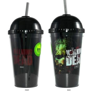 Walking Dead Carnival CupZombies design in black colored with molded lid