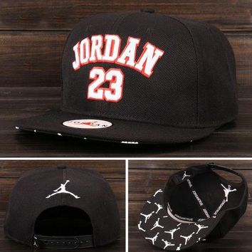 DCKL9 JORDAN 23 Embroidered Baseball cotton cap Hat