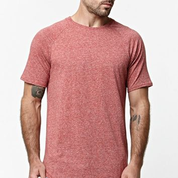 On The Byas Toby Mock Multi Nep Crew T-Shirt - Mens Tee