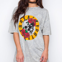 Vee Oversized Rocker Tee