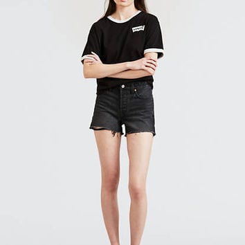 Wedgie Fit Shorts - Black | Levi's® US