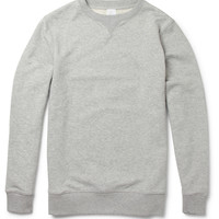 Sunspel - Loopback Cotton-Jersey Sweatshirt | MR PORTER