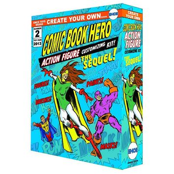 Create Your Own Comic Book Hero Action Figure Kit - The Sequel