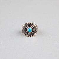 FULL TILT Turquoise Stone Oval Ring | Rings
