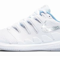 NikeCourt Air Zoom Vapor X + Crystals - White