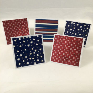 Independence Day greeting card set (10)
