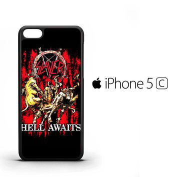SLAYER Hell awaits Black Metal Band Y0001 iPhone 5C Case
