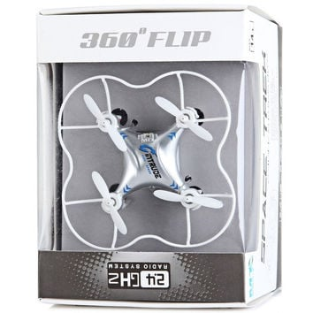 M9912 Quadcopter 3D Fly 2.4GHz 6 Axis Gyro Toys Drone RC Copter Helicopter with Colorful Lights (Color: Green) = 1845694340