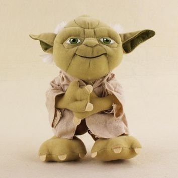 20cm Star Wars Master Yoda Plush Soft Stuffed Dolls Toys For Kids Birthday Gifts