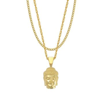 Mister Buddha Piece Necklace