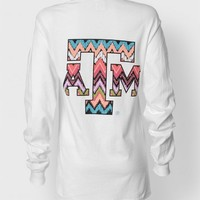 CHEVRON TRIBAL LONGSLEEVE