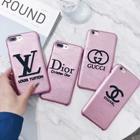 LV Dior Gucci Chanel 2017 Hot ! iPhone 7 iPhone 7 plus - Stylish Cute On Sale Hot Deal Matte Couple Phone Case For iphone 6 6s 6plus 6s plus