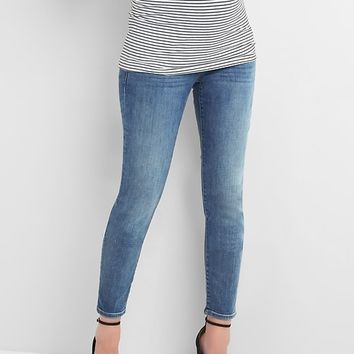 Maternity full panel true skinny jeans|gap