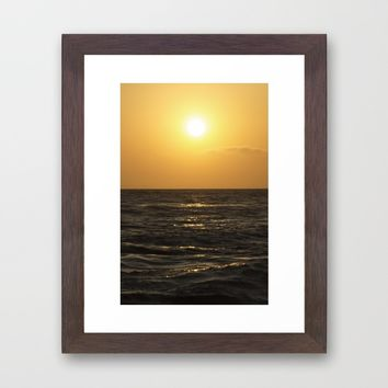 The Light Framed Art Print by Horizon Studio | Society6