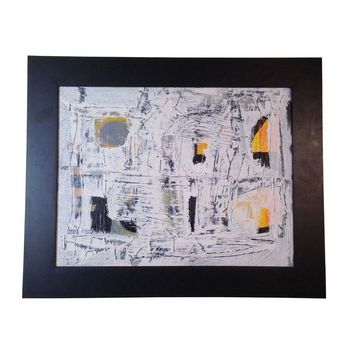 "Pre-owned ""Minimalism"" Abstract Expressionism Painting"