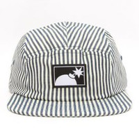 The Hundreds, Ticking 5 Panel Hat - Navy - The Hundreds - MOOSE Limited