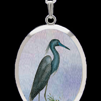 Pro Arte Collection Blue Heron Pendant by Lovell Designs