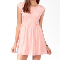 Dotted Bow Back Dress