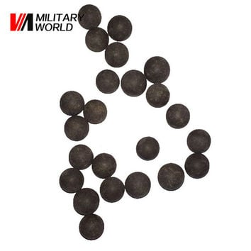 100PCS bag Slingshot Beads Bearing Mud Beads Hunting Slingshot Ammunition Ammo Solid Drawing-board Clay Mud Eggs for Hunting