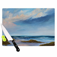 "Rosie Brown ""Summer Showers"" Beach Cutting Board"