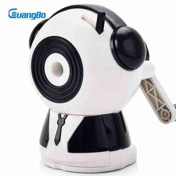 Guangbo Pencil Sharpener White Green Red Unique Mechanical Student Gift School Supplies Stationery Pencil Sharpeners XBQ9742