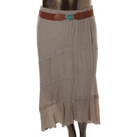 BCX Womens Juniors Gauze Hi-Low Peasant, Boho Skirt
