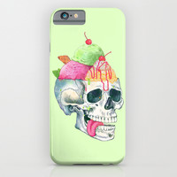 brain freeze iPhone & iPod Case by Laura Graves