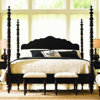Lexington Long Cove Newport Poster Bed in Midnight | Wayfair