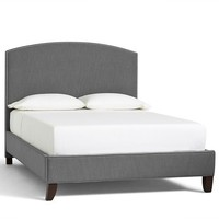 FILLMORE UPHOLSTERED BED & HEADBOARD