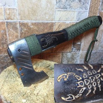 Viking axe, medieval axe, manly gifts, tomahawk, bearded axe, carving axe, engraved axe, husband gift, custom axe, dad gifts, mens gifts