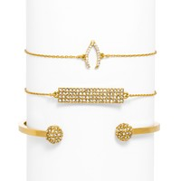 Ice Wishbone Bracelet Set (RETAIL VALUE $96)