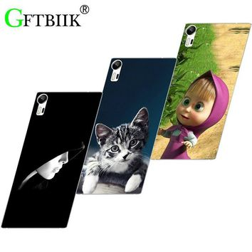 Hot Ultra Thin Back Cover For Lenovo Vibe Shot Z90 Z 90 Protective Phone Case Horse Dog Cat Handsome Tiger Fruits Cases
