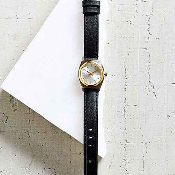 Nixon Small Silver Time Teller Watch