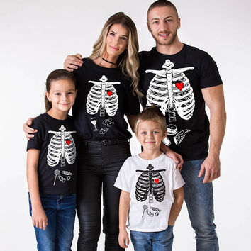 Hallowen family shirts, Family halloween shirts, Mommy daddy baby halloween family shirts, Family halloween t-shirt, Halloween shirt, UNISEX
