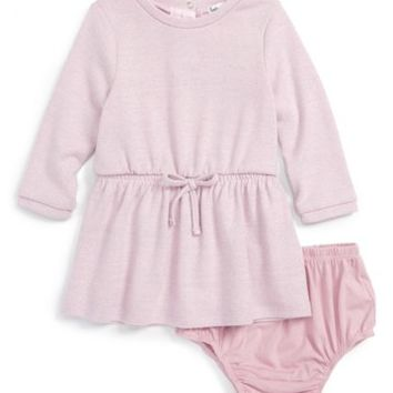 Splendid | Knit Sweater Dress & Bloomer Set (Baby Girls) | Nordstrom Rack