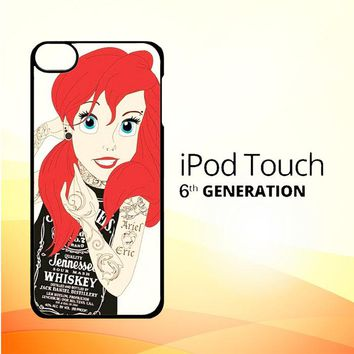 Tattooed Ariel Y0119 iPod Touch 6 Case