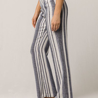 IVY & MAIN Stripe Womens Linen Pants