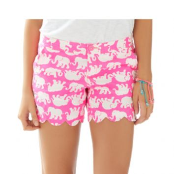 Lilly Pulitzer Pop Pink, Tusk in Sun Buttercup Shorts